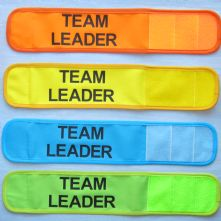 Customised Wrap Armband - Team Leader